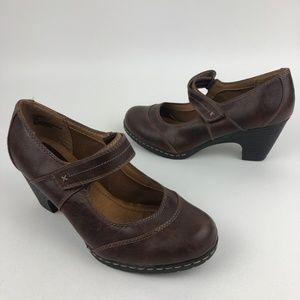 Cloudwalkers Florham Mary Jane Heel Brown Size 9W